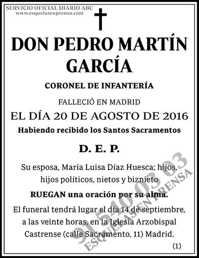 Pedro Martín García
